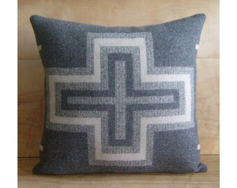 Southwestern Pillow • Southwest Decor • Tribal Pillow • Western Decor • Bohemian Pillow • Boho Decor • Native American • San Miguel Gray