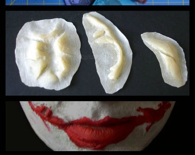 MYFX Joker Scars MEGA KIT for Your Dark Knight Batman Joker Costume Cosplay Prosthetic Mask ~ Free Priority Mail Order by 7pm/est Ship Today