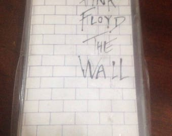 PINK FLOYD the  WALL original cassette  1979 new in  blister