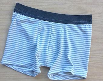 Organic cotton boxer underwear for men