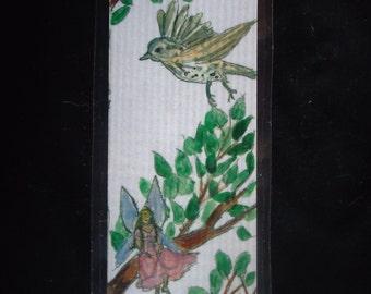 Laminated Fairy bookmark