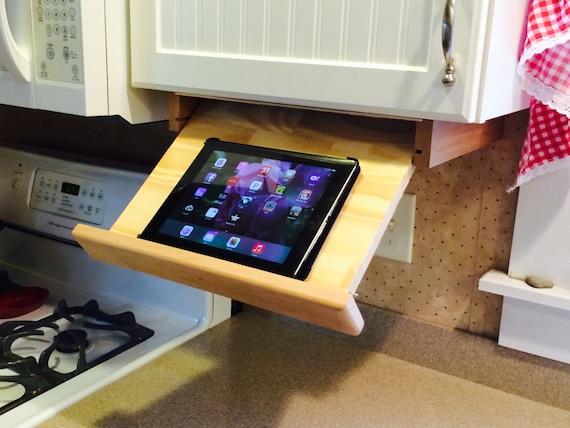 Under Cabinet Ipad Cookbook Holder
