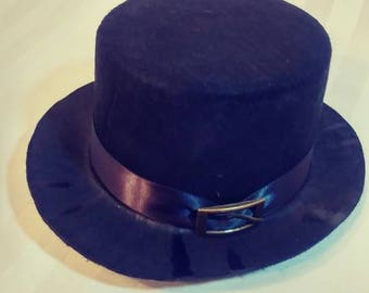 Mini Top Hat With Buckle Costume