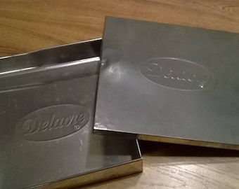 160) Tin cookies box french Delacre