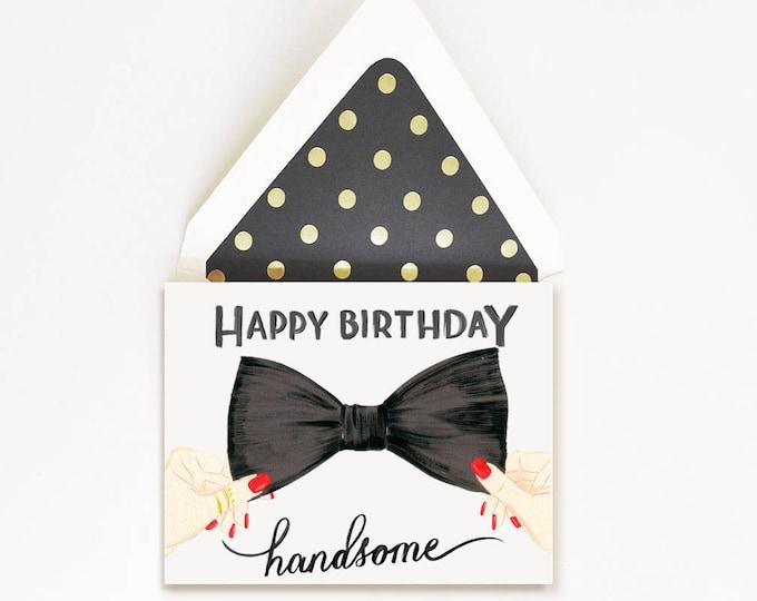Happy Birthday Handsome Bow Tie