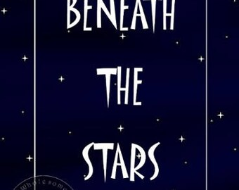BENEATH THE STARS -- Instant Download; Digital Art (8x11) .png
