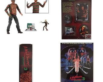 "Ultimate Freddy Krueger Dream Warriors A Nightmare On Elm Street Part 3 NECA 2016 7"" INCH Action Figure * In Hand*"