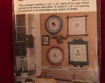 Vintage Country Prints Cross Stitch, Sealed