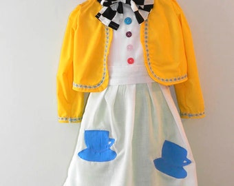 Mad Hatter Tea Party Dress by Kiki's Things