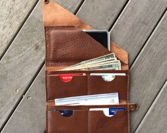 Leather Wrap Wallet