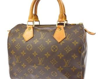 Vintage Authentic Louis Vuitton Hand Bag Speedy 25, Original Louis Vuitton, Borse e Borsette, Borse porta indumenti, LV hand bag,  Vuitton