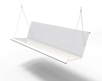 Westdale Modern Porch Swing - Powder Coated RAL 9003 Signal White - Stainless Steel FREE SHIPPING!