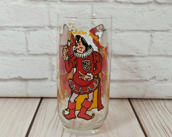 Vintage Duke of Doubt Collectible Glass 1979 Burger King