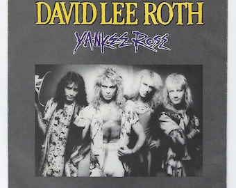 David Lee Roth - Yankee Rose / Shyboy - 45rpm - 1986