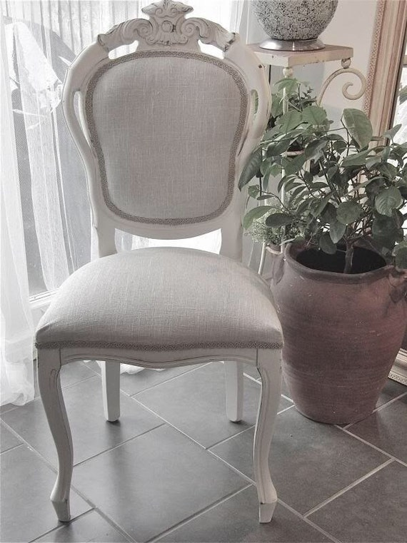 Gentil Shabby Chic French Style Dining Table And 4 Dining Chairs