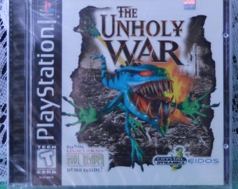 The Unholy War - Playstation - Factory Sealed