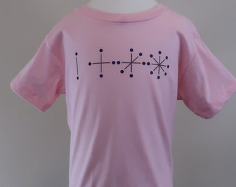 Toddler 2T 3T 4T 5T lines dots tshirt