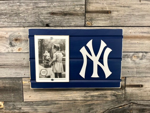 New York Yankees Picture Frame Holds 4x6 Photo
