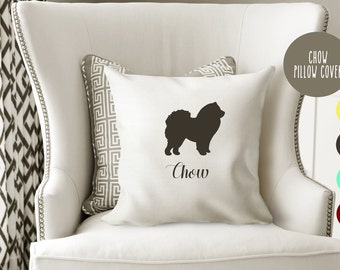 Personalized Chow Chow Pillow Cover