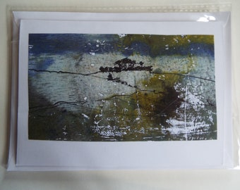 Minninglow in mist greetings card