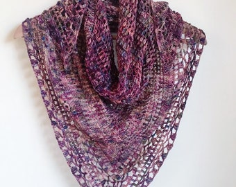 Crochet Scarf Alice Pattern Only