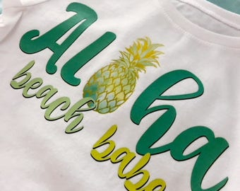 Aloha Beach Babe T-Shirt