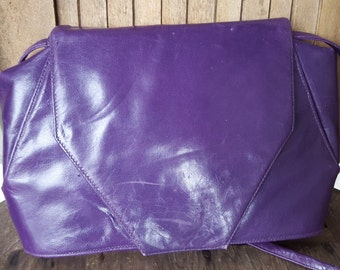 FRENCHY    ///    80s Leather Hip Bag