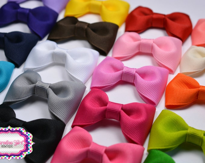 """Pick 1 ~ 2.5"""" Hair Bow Tuxedo Bow Simple Bow Boutique Bow for Babies Toddlers Girls Hair Bows"""