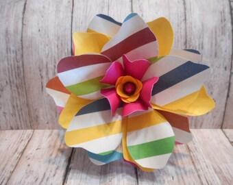 Paper Flower, Gardenia Paper Flower, Gift Decoration, Party Decoration, Table Decoration, Handmade Paper Flower
