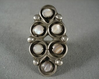 The Best Vintage Zuni Pearl Ring Old