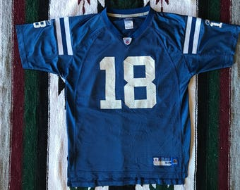 Reebok NFL Indianapolis Colts Peyton Manning Football Jersey Size M (Youth XL)