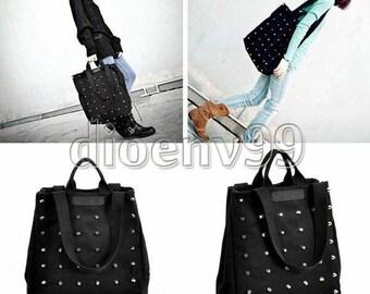 Bag has shoulder strap Tote canvas satchel