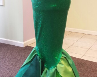 Mermaid Walking Tail - Adult Mermaid Costume Fin, Custom Made Ladies Sizes, Custom made to Fit, Cosplay Costume, Mermaid Costume
