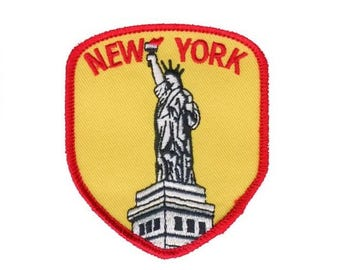 New York Patch - Statue of Liberty (Iron on)