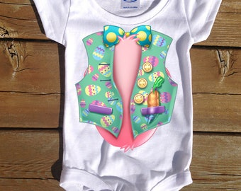 Baby Easter Outfit, infant outfit, baby bodysuit, infant clothing, Easter bunny shirt, baby clothing, Cute Bunny Costume, Kids Easter Shirt