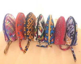 Multipurpose African Print Bag.