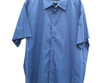 XL Banana Republic Short Sleeve Dress Shirt