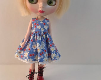 Blythe Doll Dress,  Blythe Dress Floral