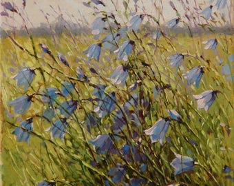 """Oil painting """"Wildflowers melody"""""""