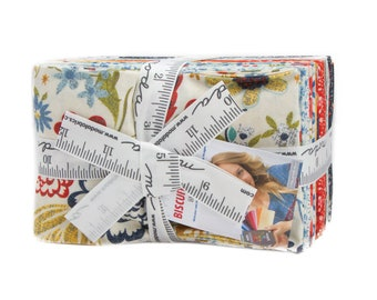Biscuits & Gravy Fat Eighths Bundle by Basic Grey for Moda M30480F8 - Precut quilting and sewing 100% cotton, free shipping in Australia