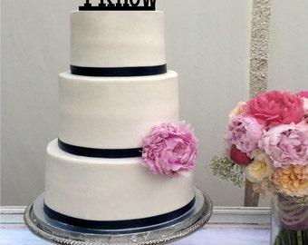 Star Wars Inspired Wedding Cake Topper - I Love you I Know - Han Solo - Princess Leia - Han & Leia