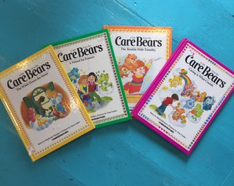 Vintage Care Bear Book Lot