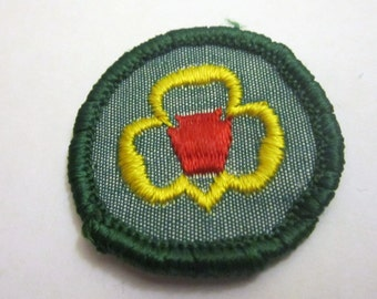 """CLEARANCE Vintage Junior Girl Scout Badge """"My Troop"""" circa 1960's"""