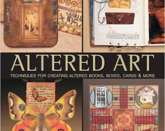 Altered Art: Techniques for Creating Altered Books, Boxes, Cards & More (Hardcover) no tax