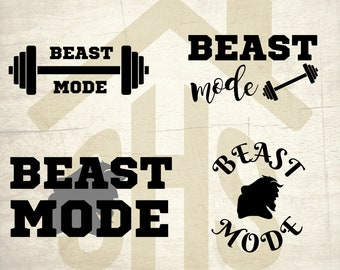 Beast Mode svg, Beast Mode vector, Beast Mode digital clipart Svg, png, dxf files instant download for User, Design, Printing or more