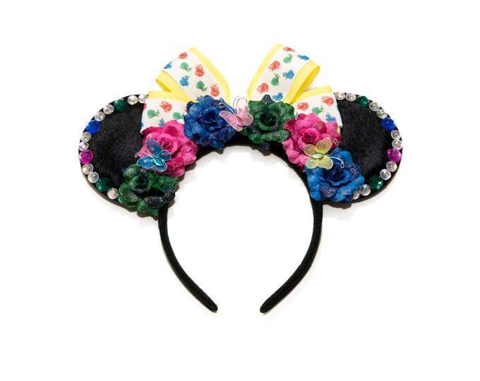 Flora Fauna Merryweather Mouse Ears Headband