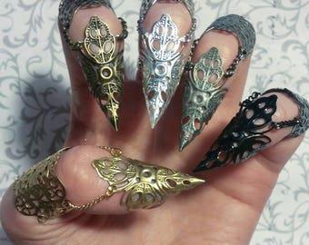 SINGLE Elven Claw // Silver, Bronze, Gold, Gunmetal, Black