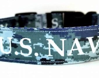 U.S. Navy dog collars & leashes