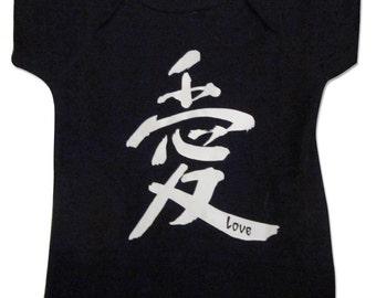 Love Infant t-shirt in Black