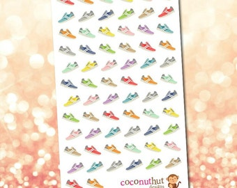 Sneakers / Athletic Shoes Planner Stickers
